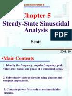 stedy state sinusoidal response