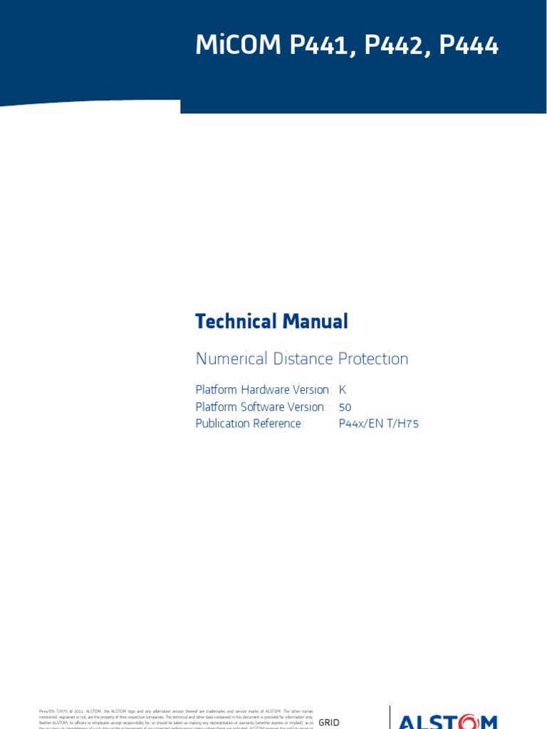 Alstom MVAP  Service Manualpdf Relay Fuse Electrical - Alstom electromagnetic relay catalogue