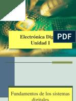Unidad I Fundamentos de sistemas digitales y numéricos