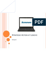 Strategic Action at Lenovo