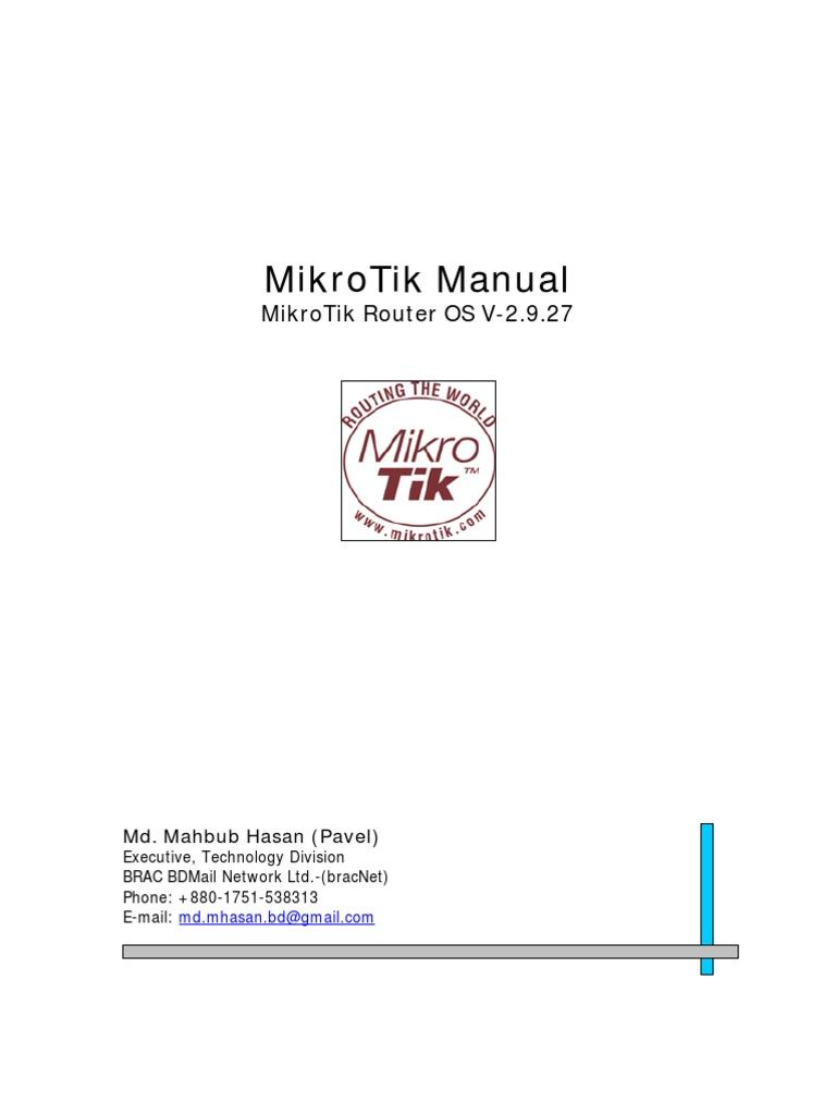 Allow Gmail Mikrotik