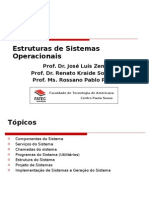 Estruturas de Sistemas Operacionais Fatec