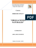 OBLIGACIONES NATURALES