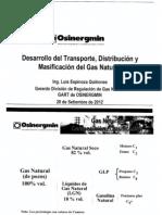 Presentacion_desarrollo Del Transporte Distribucion y Masificacion Del Gas Natural