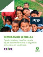 Oxfam Sembrando Semillas 2012