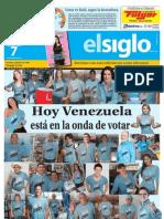 Edicion Eje Este Domingo 07-10-2012