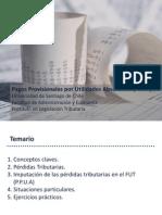 Pagos Provisionales Por Utilidades Absorbidas, Propias y Ajenas