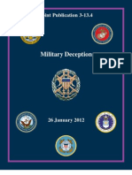(JCS-MILDEC) Military Deception - Jan 2012