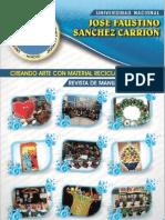 Revista CREANDO ARTE CON MATERIAL RECICLABLE