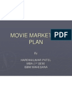 Movie Marketing Plan