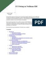 Diseñar un GUI Swing en NetBeans IDE