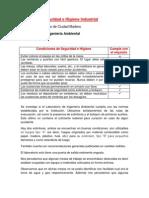 Reporte de Seguridad e Higiene Industrial