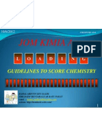 1 Guidelines to Score Chemistry