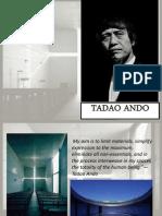 Tadao Ando Prsntn