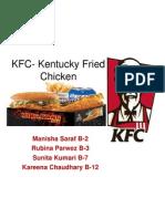 MOS- KFC ppt.