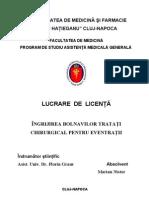 Ingrijirea Bolnavilor Tratati Chirurgical Pentru EVENTRATII