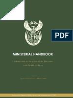 Ministerial Handbook