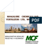 Mangalore Chemicals and Fertilizers Ltd, Mangalore