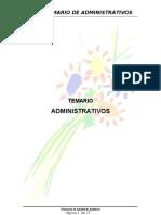 Temario Administrativos Junta de Andalucía CCOO