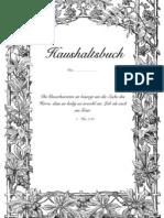 Haushaltsbuchcover I