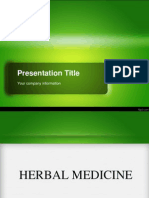 Herbal Medicines 2