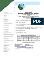 MNWAT Agenda 093010