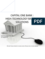 Sales presentation-CapitalOneBank