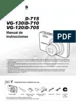 Manual Camara OLYMPUS VG 130