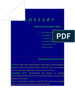 Cell Biology Glossary
