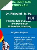 1 Manajemen Dan Pendidikan Ok