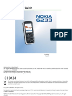 Nokia 6233 User Manual