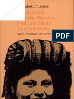 Rigoberta Menchu-Elizabeth Burgos - Me Llamo Rigoberta Menchu y Asi Me Nacio La Conciencia (Fragmento)