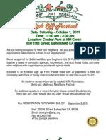 2011 Food Vendor Registration Sign Ups
