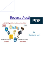 Reverse Auction by Chaitanya Lad