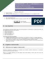 Ch.1.SQL Al Relationnelle Introduction Langage SQL