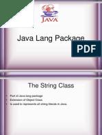 Java Language Package