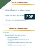 Streams & File IO