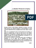 012. Rugăciunea ultimilor părinţi de la Optina
