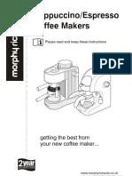 Coffee Makers Cappuccino-Espresso