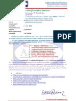 Aabhoj Electrical Services PDF