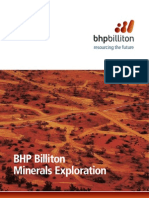 BHP Billiton Minerals Exploration Corporate Publication