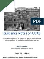 UCAS Economics Advice Spring2012
