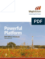 BHP Billiton Petroleum Annual Review 2012