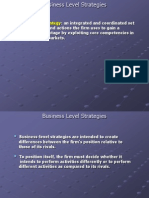 Topic 6 Business Level Strategies Ppt3303