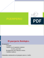 Present Puerperio