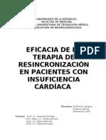 EFICACIA DE LA TERAPIA DE RESINCRONIZACIÓN EN PACIENTES CON INSUFICIENCIA CARDÍACA 2