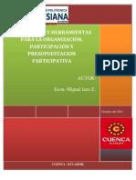 MecanismosOrganizacionPresupuestosParticipativosML