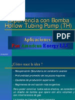 Bomba TH Tipo Hollow