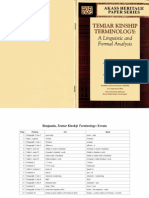 Benjamin, Temiar Kinship Terminology