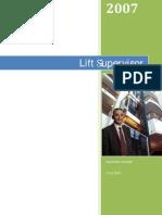 Sistema Di Supervisione- LIFT SUPERVISOR